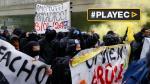 Centenares protestaron contra Marine Le Pen en Francia - Noticias de fernanda sosa