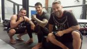 UFC: peruano Jaime Córdova se suma a campamento de Erick Silva