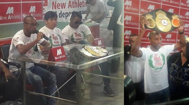 Carlos Zambrano defenderá título mundial AMB en Las Vegas