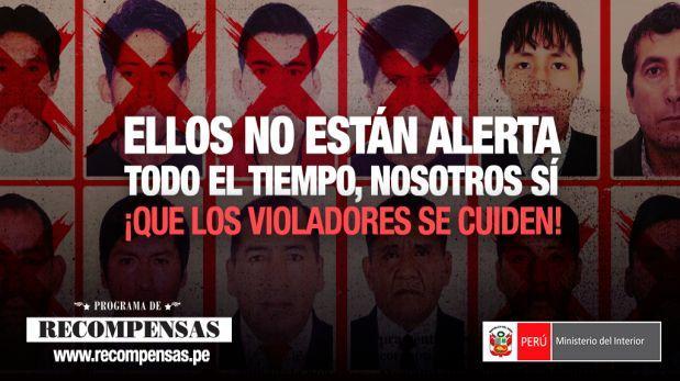 Que los violadores se cuiden: 344 requisitoriados siguen libres