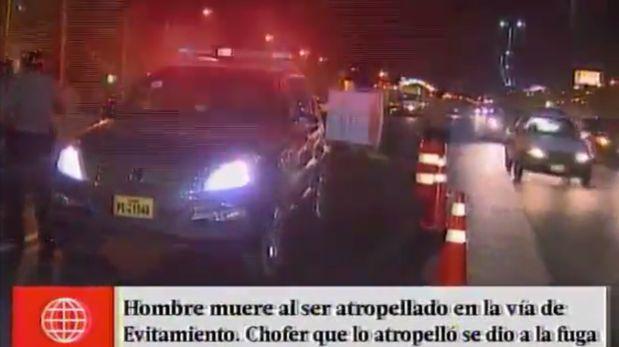 El Agustino: hombre murió atropellado por varios vehículos