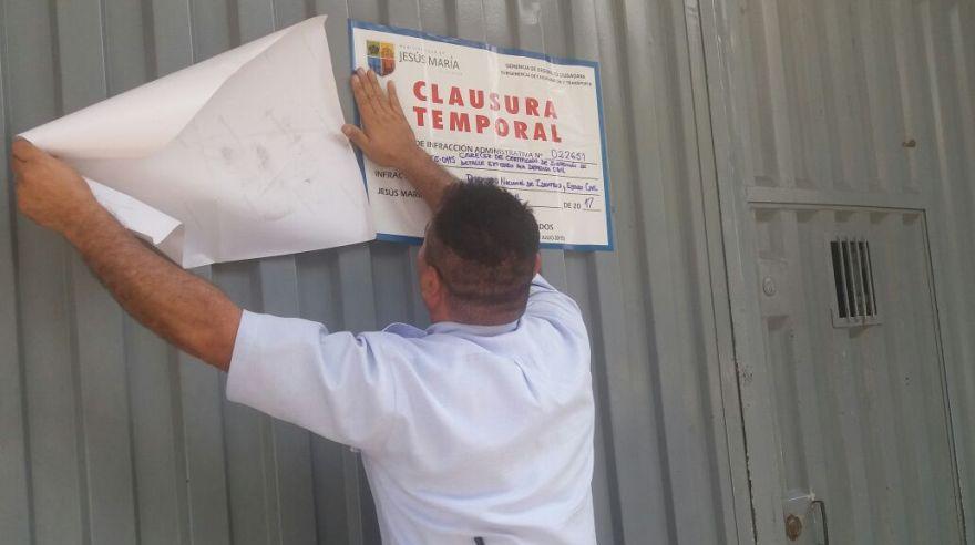 Lima: clausuran temporalmente Reniec de Jesús María por esta razón