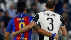 "Chiellini sobre Barza: ""Son como tiburones, huelen la sangre"""