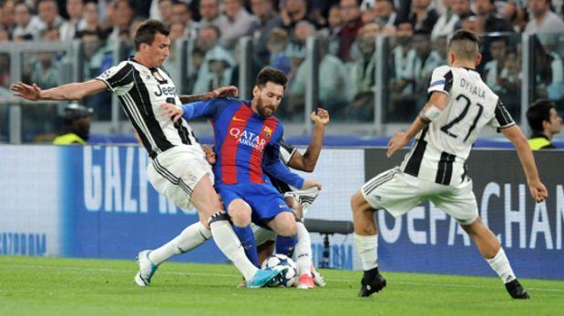 Juventus eliminó a Barcelona