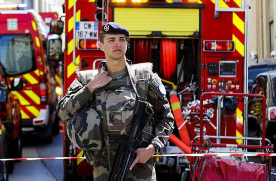 Francia: Los terroristas que planeaban un atentado inminente