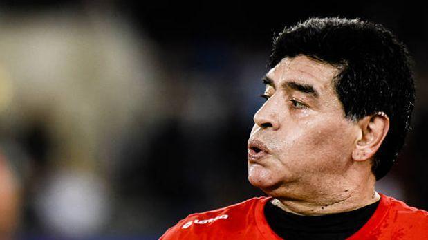 Maradona habló sobre muerte de hincha que cayó desde tribuna