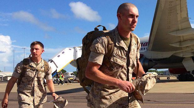 Más de 1200 marines en Australia 'listos para luchar — Tensión con Corea
