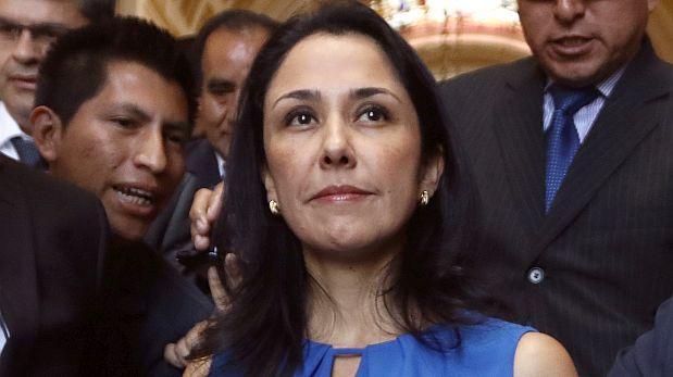 Nadine Heredia puede salir del país sin permiso judicial