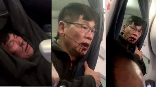 United Airlines se comprometió a no recurrir a la policía para sacar pasajeros de sus aviones tras la ola de indignación generada por la violenta expulsión de David Dao; un médico de origen vietnamita que vive desde hace años en Estados Unidos. (Foto: Captura)
