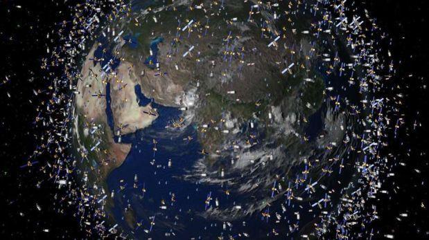 """ESA: """"Hay más de 750.000 partículas de basura en el espacio"""""""