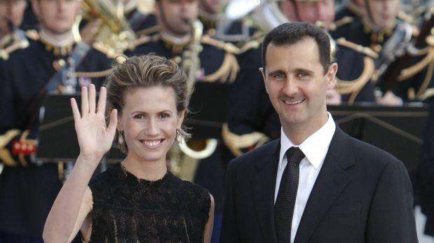 La Unión Europea impuso sanciones contra Asma, prohibiéndole viajar y congelando sus bienes. (Foto: Reuters)
