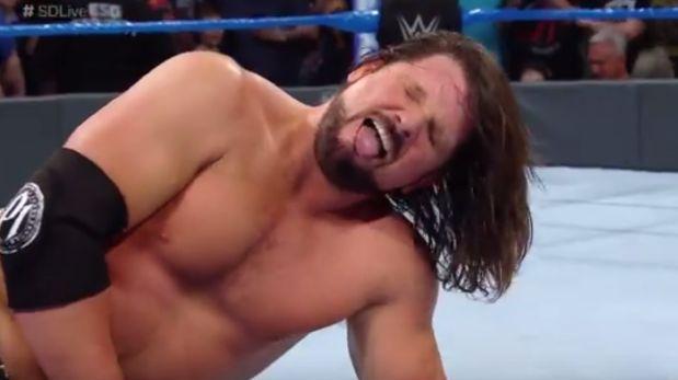 WWE SmackDown Live: Aj Styles venció a Baron Corbin [VIDEO]