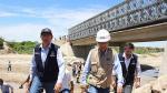 """Vizcarra: """"Este año se instalarán 20 puentes en la región"""" - Noticias de puente bailey"""