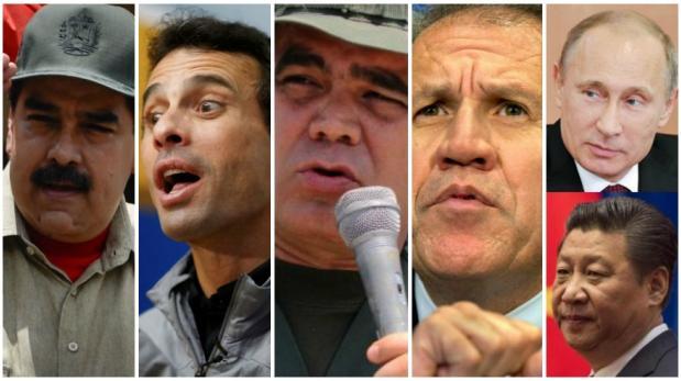Venezuela: Los cinco protagonistas de la crisis
