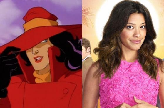 Gina Rodríguez: conoce a la nueva Carmen Sandiego [FOTOS]