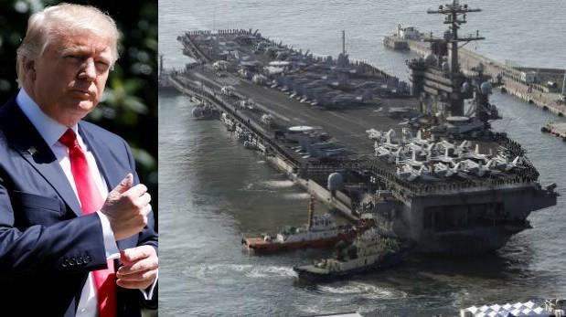 EE.UU.: ¿Por qué no envió su portaaviones nuclear a Norcorea?