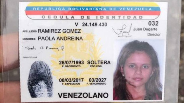 La fallecida durante protesta en Venezuela respondía al nombre de Paola Ramírez y tenía 23 años. (Foto: Twitter)