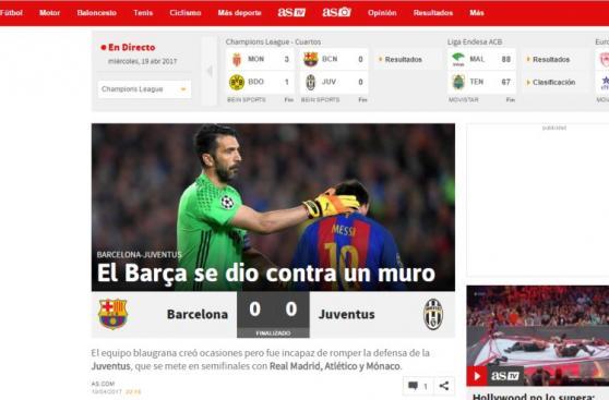 Barcelona vs Juventus: las portadas tras la eliminación culé
