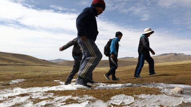 Heladas: temperatura alcanzaría los 20° bajo cero en el sur