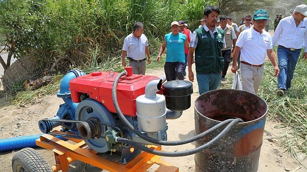Se invertirán S/256 millones para el agro afectado por lluvias