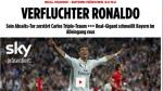 Bayern: prensa alemana maldice a Ronaldo y al árbitro Kassai - Noticias de arturo madrid