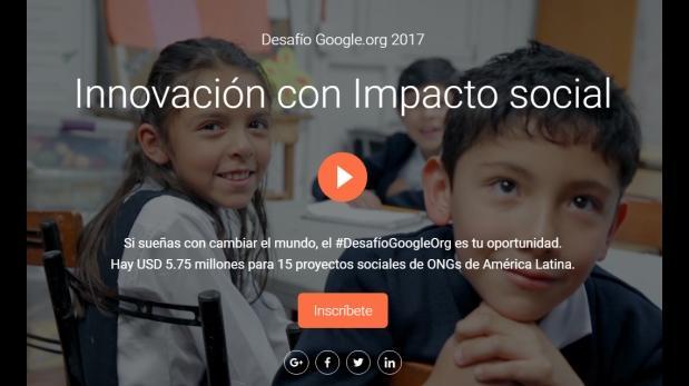 Google quiere digitalizar, asesorar y brindar recursos a ONGs