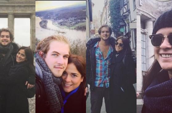 compartió románticas fotos