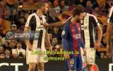 Bonucci le pidió camiseta a Leo Messi y así reaccionó Chiellini