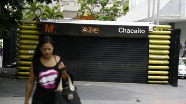 Cierran 23 estaciones del Metro de Caracas en