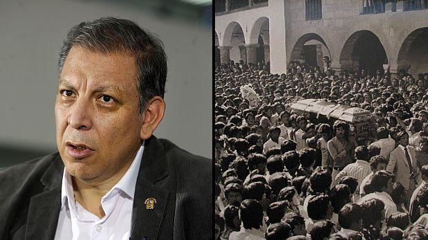 """Arana: fue un """"grave error"""" usar foto de entierro de terrorista"""