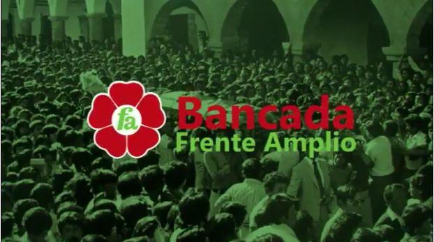 La imagen del entierro de una terrorista sirvió como cierre del video que ya fue eliminado de la cuenta de Frente Amplio.