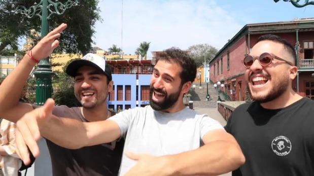 Jorge Cremades se luce como 'peruano' desde Barranco [VIDEO]