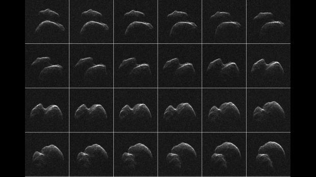 Así se ve el enorme asteroide que pasó cerca de la Tierra