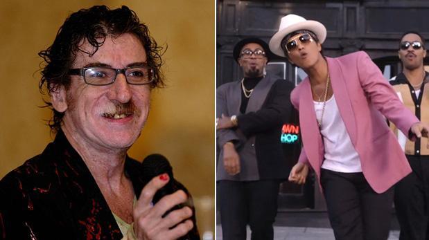 """Charly García acusa de plagio a Bruno Mars por """"Uptown Funk"""""""