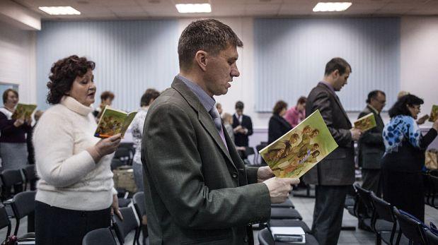 Testigos de Jehová. (AFP).
