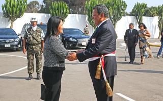 Keiko saluda homenaje del gobierno a comandos Chavín de Huántar