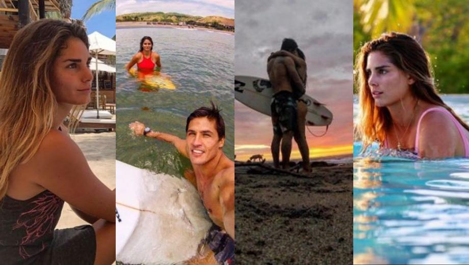 Coco Maggio encontró el amor en surfista peruana