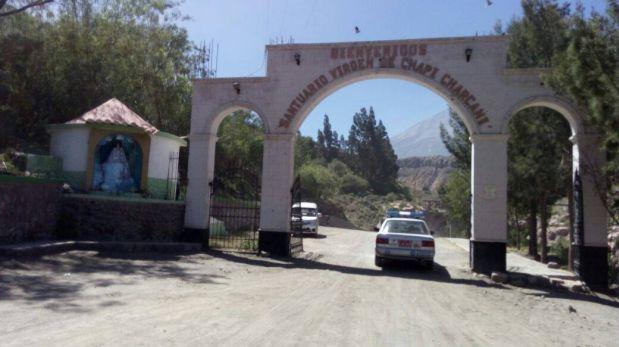 Arequipa: vándalos rompieron imagen de la Virgen de Chapi