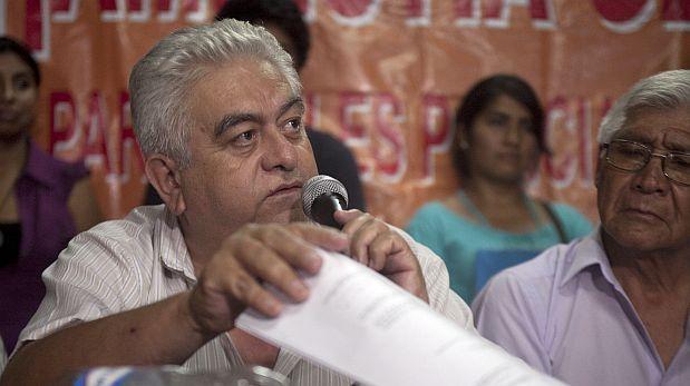 Movadef: denuncian a Manuel Fajardo por apología del terrorismo