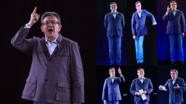 [BBC] Los políticos que usan hologramas para ser omnipresentes