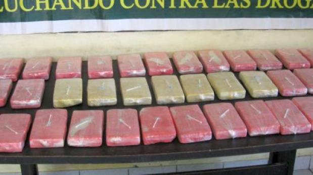 Incautan más de 80 kilos de PBC tras enfrentamiento con narcos