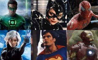 Actores que encarnaron a famosos superhéroes del cine [FOTOS]