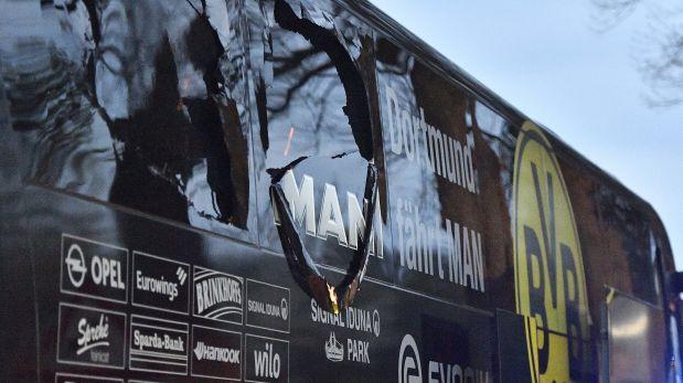 """Atacante de bus del Dortmund habría actuado por """"codicia"""""""