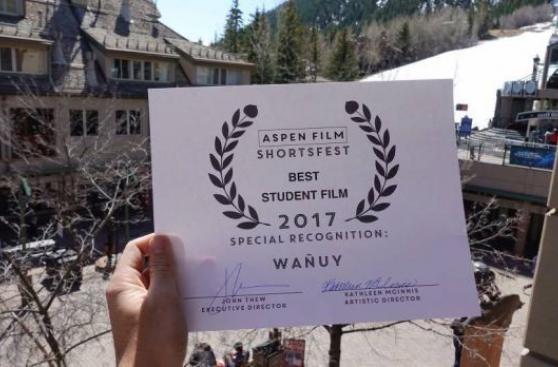 Corto de Alejandro Roca Rey fue reconocido en Aspen Shortsfest