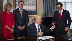 """Trump hará """"gran anuncio"""" sobre su plan fiscal"""
