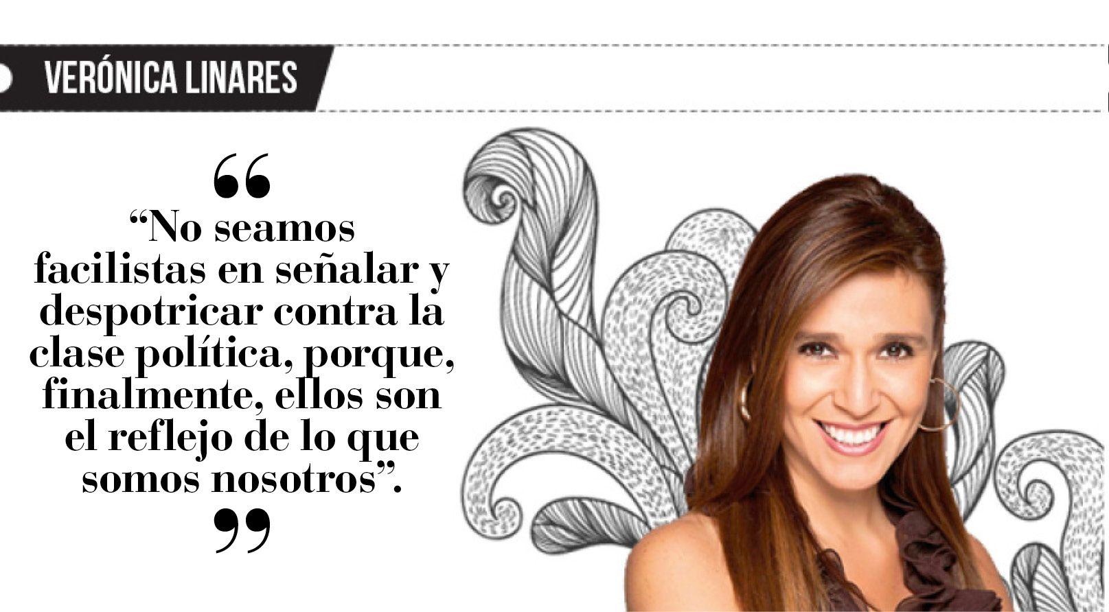 Verónica Linares: Soy corrupta