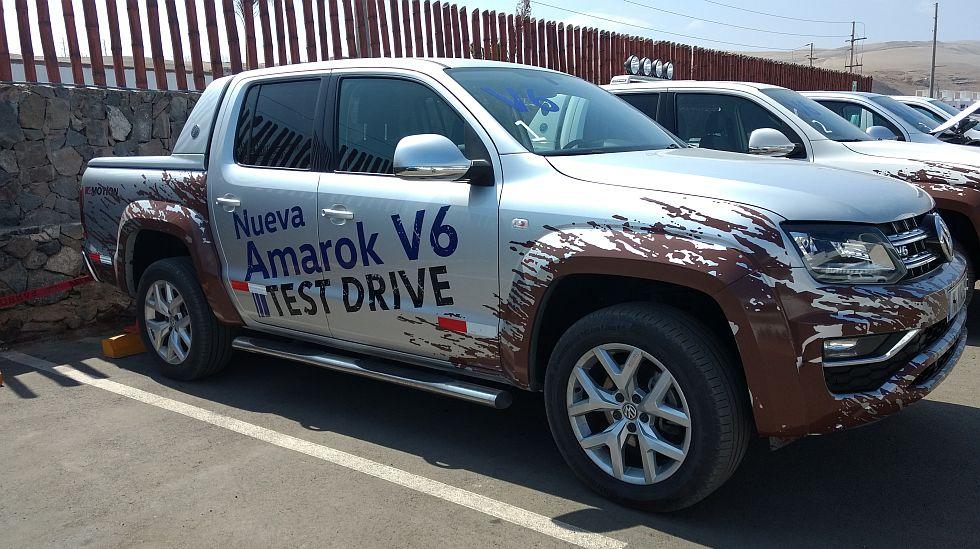 Volkswagen lanzó la renovada Amarok, que ahora puede llevar un motor V6 de 3,0 litros. (fotos: Volkswagen/Ruedas&Tuercas)