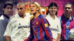 Real Madrid-Barcelona: el 'peor once' sudamericano en clásicos - Noticias de barcelona andres iniesta