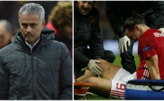 """Mourinho sobre lesión de Zlatan Ibrahimovic: """"No soy optimista"""""""