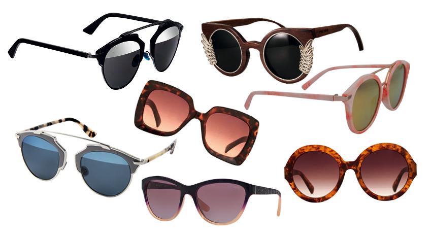 Guía de compras: Los lentes de sol más